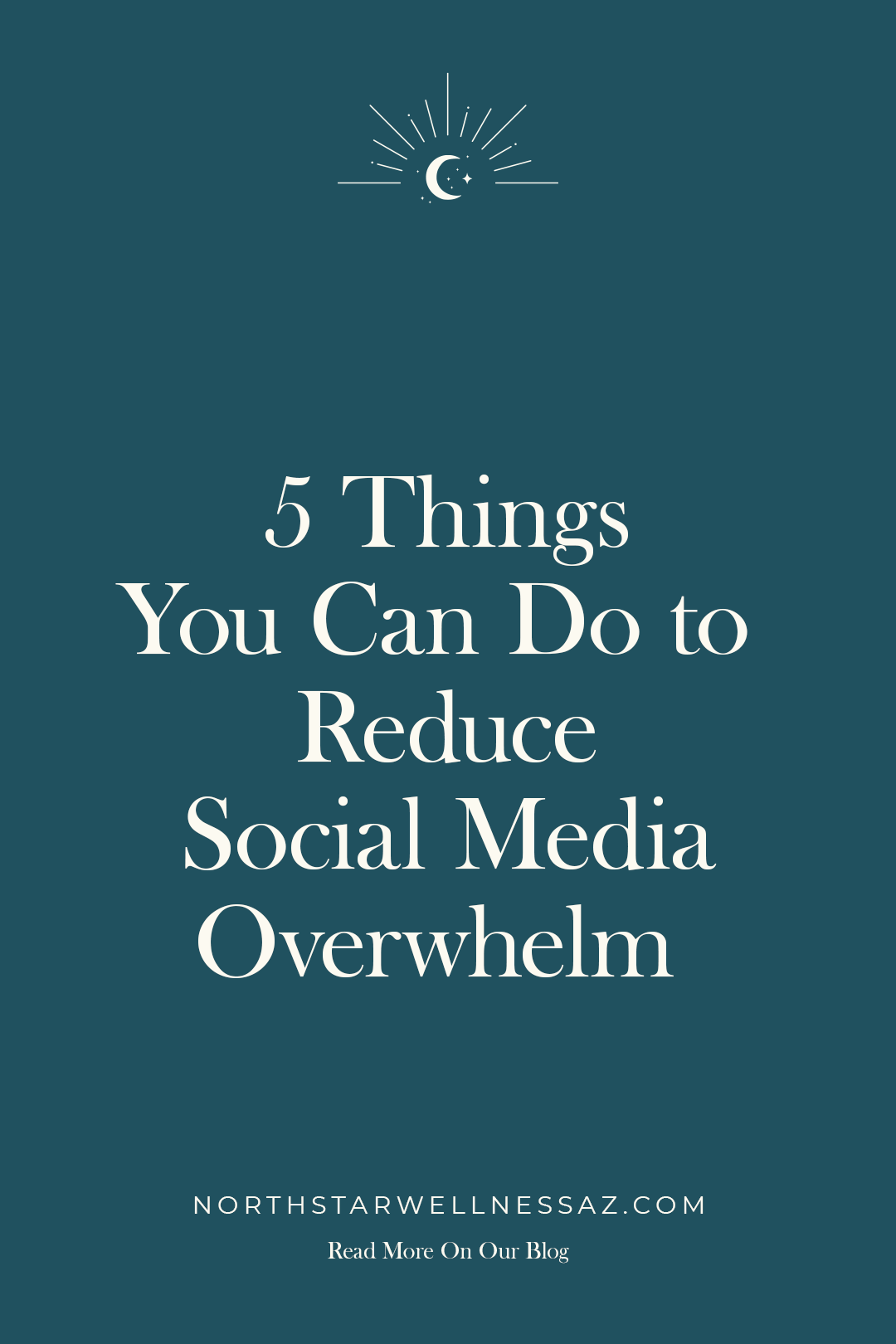 5 Things You Can Do to reduce social media overwhelm